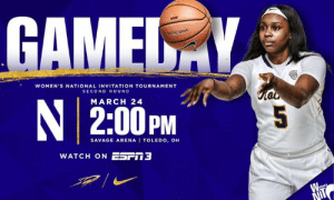 Basketball, Memes, and Radio: WOMEN'S NATIONAL INVITATION TOURNAMENT  SECOND ROUND  N 2:00PM  MARCH 24  5  SAVAGE ARENA I TOLEDO, OH  WATCH ON ESri3 It's GAME DAY - WNIT Second Round Women's Basketball vs. Northwestern  📍 Savage Arena - Toledo, OH ⏰ 2:00 P.M. (ET) 💻 utrockets.com/WNIT 🎟 utrockets.com/WBBTix 📺 ESPN3 📻 Rocket Sports Radio Network, 1370 AM & 92.9 FM WSPD #ThisIsToledo | #GoRockets
