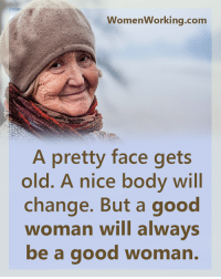 """Today I want to show you a really absurd, but extremely effective """"LOVE FORMULA"""" This will make any man feel so in love with you, that he will get obsessive thoughts about you all the time. Follow this link to discover it -> http://bit.ly/lodesire10: WomenWorking.com  A pretty face gets  old. A nice body will  change. But a good  woman will always  be a good woma Today I want to show you a really absurd, but extremely effective """"LOVE FORMULA"""" This will make any man feel so in love with you, that he will get obsessive thoughts about you all the time. Follow this link to discover it -> http://bit.ly/lodesire10"""