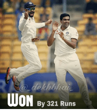 So it's a Whitewash of kiwis 💣 What a Performance by Ashwin 👌🏻 13 wickets & 2 Run out 🙌🏻 Career best performance ✨ Amazing captain's knock by Virat in 1st inning & leading the team from the front.! Rahane playing his part too well 👌🏻 Quick runs by Pujara & Gambhir in 2nd Innings 👍🏻 . It's a 4th CleanSweep in History of Indian Cricket, 1st under captainship of Kohli 👌🏻 2nd Biggest Test win in terms of Runs.! What a Game after getting on to No.1 Test Rankings 🎉🎊 BestInTheGame BleedBlue: WON By 321 Runs So it's a Whitewash of kiwis 💣 What a Performance by Ashwin 👌🏻 13 wickets & 2 Run out 🙌🏻 Career best performance ✨ Amazing captain's knock by Virat in 1st inning & leading the team from the front.! Rahane playing his part too well 👌🏻 Quick runs by Pujara & Gambhir in 2nd Innings 👍🏻 . It's a 4th CleanSweep in History of Indian Cricket, 1st under captainship of Kohli 👌🏻 2nd Biggest Test win in terms of Runs.! What a Game after getting on to No.1 Test Rankings 🎉🎊 BestInTheGame BleedBlue