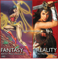 Amazon, Bailey Jay, and Life: WOND  FANTASY REALITY  ACTRESS Gal Gadot  ARTIST: Mike Deodato, r  2017  1995 In September 1994, comic book artist @mikedeodato introduced the DC Universe to ARTEMIS! He also brought to visual life to THE CONTEST, a 7-day event that 200 of the finest Amazons can enter in order to select one true champion, the last woman standing, who will enter Man's World as its protector. In the initial Contest, contestants were masked to conceal their identities so that each Amazon sister could compete without hesitation of harming a friend. *** Will we see @gal_gadot compete in The Contest to select the worthiest Amazon to return Steve Trevor back to Man's World? *** mywonderwoman girlpower women femaleempowerment MulherMaravilha MujerMaravilla galgadot unitetheleague princessdiana dianaprince