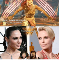 "Love, Memes, and Monster: @WONDER VAUG  EETAH GAMEPLA  awo Patty Jenkins and Geoff Johns did not want to confirm a ""Wonder Woman 2"" when they presented at WonderCon this weekend, however it's pretty obvious a sequel is inevitable. * When it happens, I would really love to see CHEETAH take center stage as she is Diana's arch-nemesis. In the past I cast Natalie Dormer in the role however it would be amazing to see CHARLIZE THERON fill the claws of the ferocious feline femme fatale. Charlize has previously worked with director Patty Jenkins on her Oscar winning role in ""Monster"". * The Barbara Minerva version of the character possesses great flexibility, superior speed, dexterity, balance control (capable of clinging to walls for brief periods) and enhanced tracking skills which includes night vision. She is a ruthless fighter, performing contortionist-type feats with cunning precision. She can use her tail as a deadly whip. Her claws are retractable and razor sharp. Her fangs can break bone and her bite releases an infectious strain of the cheetah virus! *** @gal_gadot @charlizeafrica *** mywonderwoman girlpower women femaleempowerment MulherMaravilha MujerMaravilla galgadot unitetheleague princessdiana dianaprince cheetah charlizetheron fastandfurious archnemesis atomicblonde @susaneisenberg21"