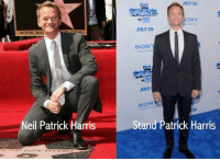 Neil Patrick Harris, Harris, and July: WOOD  www.wAI  Neil Patrick Harris  JULY 29  BONY  JULY 29  SO  JULY  SON  Stand Patrick Harris I'm dying 😂😂 https://t.co/op3teyTsBO