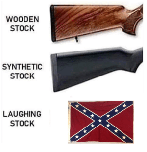 Wooden: WOODEN  STOCK  SYNTHETIC  STOCK  LAUGHING  STOCK