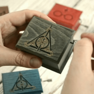 Harry Potter, Music, and Target: woodissimo:Harry Potter Always music box in Woodissimo Shop 5% OFF with coupon code SECRETDISCOUNT