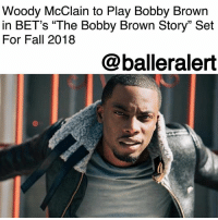"Fall, Life, and Love: Woody McClain to Play Bobby Brown  in BET's ""The Bobby Brown Story"" Set  For Fall 2018  @balleralert Woody McClain to Play Bobby Brown in BET's ""The Bobby Brown Story"" Set For Fall 2018 – blogged by @MsJennyb ⠀⠀⠀⠀⠀⠀⠀ ⠀⠀⠀⠀⠀⠀⠀ Amid the success of BET's miniseries the ""New Edition Story,"" BET is ready for WoodyMcClain to go solo. According to Deadline, BET has inked a deal with the miniseries star, who played BobbyBrown in the hit series, to reprise his role in a two-part story, titled ""The Bobby Brown Story,"" set for Fall 2018. ⠀⠀⠀⠀⠀⠀⠀ ⠀⠀⠀⠀⠀⠀⠀ The story will cover 30 years of Brown's life after he left NewEdition. Abdul Williams and Jesse Collins have joined forces, once again, to pick up where they left off in ""New Edition Story."" According to Deadline, the project will focus on Brown's solo success, his hardships, and love life. From his affair with Janet Jackson and his marriage to Whitney Houston, the story will also be a story about redemption, and overcoming adversity, BET revealed. ⠀⠀⠀⠀⠀⠀⠀ ⠀⠀⠀⠀⠀⠀⠀ According to Deadline, the team is currently casting for Houston, Bobbi Kristina, Jackson, Teddy Riley, L.A. Reid, and Babyface to join McClain for the project. ⠀⠀⠀⠀⠀⠀⠀ ⠀⠀⠀⠀⠀⠀⠀ Congratulations to Woody McClain!"