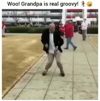 Funny, Grandpa, and Groovy: Wool Grandpa is real groovy! Ayeeee lmak
