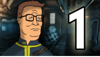 Can anyone explain why there's Hank Hill Fallout memes? ~ Courier: WORK  HAPPY  WORK Can anyone explain why there's Hank Hill Fallout memes? ~ Courier