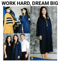 Work, Volleyball, and Filipino (Language): WORK HARD, DREAM BIG  ATENEO She believed, she could, she did. 🎓