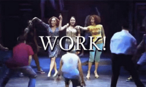 Memes, Work, and AUX Cord: WORK! In The Heights & Hamilton here for all your July 4 playlist needs if they hand you the aux cord https://t.co/Y2MyAFnhFH