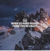 Work hard while the world is playing so one day you can play while the world is working. 🔥 Do your future self a favor and work HARD now! - 👇TAG a friend below and remind them to work hard!💰🌎 - workhard success hustle millionairementor: WORK SO HARD PEOP  THINK YOU'RE CRAZY Work hard while the world is playing so one day you can play while the world is working. 🔥 Do your future self a favor and work HARD now! - 👇TAG a friend below and remind them to work hard!💰🌎 - workhard success hustle millionairementor