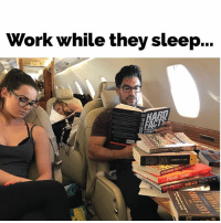 "Facts, Memes, and Work: Work while they sleep...  AACS STORM  HERBERT ""Everything comes to him who hustles while they wait..."" Thomas A. Edison (Book 📚: ""Hard Facts"" by Harvard Press)"