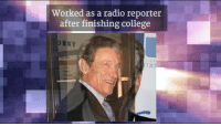 Maury, Memes, and Radio: Worked as a radio reporter  after finishing college Happy 78th Birthday to Maury host Maury Povich!