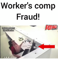 Workers' comp fraud: Watch what this Florida woman did with a piece of sprinkler that fell on her desk but did not hit her in the head - at least at first. @pmwhiphop @pmwhiphop @pmwhiphop @pmwhiphop @pmwhiphop @pmwhiphop: Worker's comp  Fraud!  Florida Department of  HIPHOP  Financial Services  CAM Workers' comp fraud: Watch what this Florida woman did with a piece of sprinkler that fell on her desk but did not hit her in the head - at least at first. @pmwhiphop @pmwhiphop @pmwhiphop @pmwhiphop @pmwhiphop @pmwhiphop