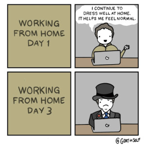 Working from home: Working from home