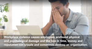 Money, Time, and Physical: Workplace violence causes employees profound physical  and psychological damage and the loss in time, money and  reputation can cripple and sometimes destroy an organization. Won't someone think about how gun violence affects corporations?