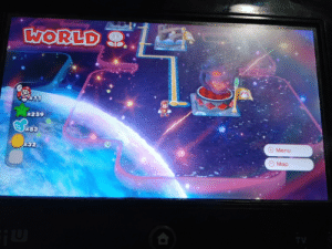 Life, Super Mario, and Mario: WORLD  11  x259  x53  832  Menu  Map  TV When you reach here and dont lnow what to do with your life (Super mario 3d world)