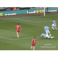 Memes, 🤖, and Man City: WORLD  At FOOTBALL VIDS When Dani Osvaldo humiliated Man City's defence, scored a banger and sent Vincent Kompany to the coffee shop... 😶 - Follow us for more vids ✅