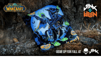 Fall, Http, and World: WORLD!  WAR RAFT  GEAR UP FOR FALL AT Celebrate Hallow's End with the new World of Warcraft Hallow's End Tee commemorating the yearly return of the Horseman. Available while supplies last only.   Get yours: http://bit.ly/2CPKxOS