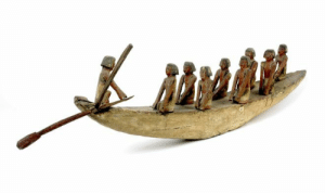 worldhistoryfacts:Egyptian model boat, 1990 BCE, from the tomb of one of the pharaoh's advisors. These boats are thought to have been provided so that the deceased could travel to the afterlife. As Egyptian society was organized around the Nile River, transport by boats like these was often far easier and cheaper than land-based travel. Pharaohs could travel up and down the river and personally survey a very large portion of their empire.: worldhistoryfacts:Egyptian model boat, 1990 BCE, from the tomb of one of the pharaoh's advisors. These boats are thought to have been provided so that the deceased could travel to the afterlife. As Egyptian society was organized around the Nile River, transport by boats like these was often far easier and cheaper than land-based travel. Pharaohs could travel up and down the river and personally survey a very large portion of their empire.