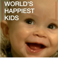 Memes, Netherlands, and 🤖: WORLD'S  HAPPIEST  KIDS 24 JAN: Is this one of the happiest children in the world? Research shows kids living in the Netherlands are more content than those in any other country. But why? Happiest countries: bbc.in-happyindex Happy Happiness HappinessIndex Children Holland Dutch Netherlands BBCShorts BBCNews @BBCNews