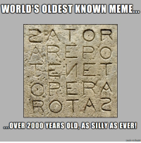 Oldest Known