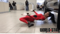 Memes, 🤖, and Hops: WORLE STAR  HIP HOP How many of you think you can do this? 🤔😱 WSHH @worldstar (via @TheLimboQueen)