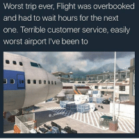 Crazy, Funny, and Lol: Worst trip ever, Flight was overbooked  and had to wait hours for the next  one. Terrible customer service, easily  worst airport I've been to  @extend  一 Tell me why it's 2017 and people still leave the bathroom without washing their hands 🤔 Double tap for luck 👌🏼 Enjoy the memes? Get even more on my backup (@memerzone) ➖➖➖➖➖➖➖➖➖➖➖➖➖➖➖➖➖ Tags (Ignore) 🚫 GamingPosts Laugh CallOfDuty Lol Meme Memes Cod Selfie Funny Gamer FunnyAF Savage Salt Meme PhotoOfTheDay Crazy Insane Minecraft Shook Joke NoChill YouTube Relatable ladbible Overwatch