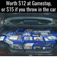 $17 store credit! @gamingplus2 . . . gaming gamer games videogames cod gta csgo minecraft starwars marvel xbox playstation nintendo nerd geek leagueoflegends pc youtube lol fun funny letskillping dota2 game dccomics battlefield steam halo blizzard: Worth $12 at Gamestop,  or S15 if you throw in the car $17 store credit! @gamingplus2 . . . gaming gamer games videogames cod gta csgo minecraft starwars marvel xbox playstation nintendo nerd geek leagueoflegends pc youtube lol fun funny letskillping dota2 game dccomics battlefield steam halo blizzard