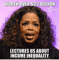 Memes, 🤖, and Usa: WORTH  OVER $3.2 BILLION  TURNING  POINT USA  LECTURES US ABOUT  INCOME INEQUALITY