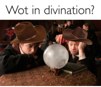 divination: Wot in divination?