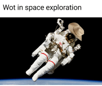 Space, Wot, and Space Exploration: Wot in space exploration