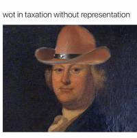 What in tarnation: wot in taxation without representation What in tarnation