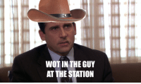 I'm the princess, and the queen: WOT IN THE GUY  AT THE STATION I'm the princess, and the queen