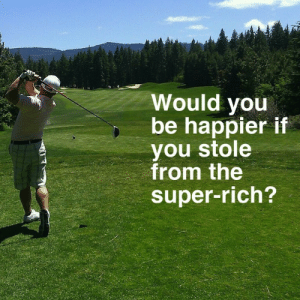 Bailey Jay, Gif, and Tumblr: Would you  be happier if  you stole  from the  super-rich? inspirobotisms: