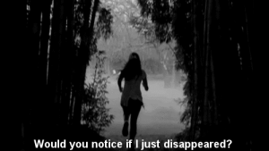 https://iglovequotes.net/: Would you notice if I just disappeared? https://iglovequotes.net/