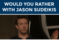 """<h2><b>JASON SUDEIKIS WANT TO PLAY """"WOULD YOU RATHER"""" WITH YOU!</b></h2><p>Jason is here and ready to answer your best <b><a href=""""https://www.youtube.com/watch?v=uIJGnpGmP5U"""" target=""""_blank"""">""""Would You Rather?""""</a></b> scenarios!</p><p>Send us your best/funniest/weirdest """"Would You Rather?"""" questions by <b>replying below</b> OR by submitting to our <b><a href=""""http://fallontonight.tumblr.com/ask"""" target=""""_blank"""">Tumblr Ask Box</a></b>! <b><a href=""""http://giphy.com/gifs/agentm-agent-m-1ACQjwoJ7fNN6"""" target=""""_blank"""">(via)</a></b></p><h2><b>Do you have a """"Would You Rather"""" for Jason Sudeikis? </b></h2>: WOULD YOU RATHER  WITH JASON SUDEIKIS <h2><b>JASON SUDEIKIS WANT TO PLAY """"WOULD YOU RATHER"""" WITH YOU!</b></h2><p>Jason is here and ready to answer your best <b><a href=""""https://www.youtube.com/watch?v=uIJGnpGmP5U"""" target=""""_blank"""">""""Would You Rather?""""</a></b> scenarios!</p><p>Send us your best/funniest/weirdest """"Would You Rather?"""" questions by <b>replying below</b> OR by submitting to our <b><a href=""""http://fallontonight.tumblr.com/ask"""" target=""""_blank"""">Tumblr Ask Box</a></b>! <b><a href=""""http://giphy.com/gifs/agentm-agent-m-1ACQjwoJ7fNN6"""" target=""""_blank"""">(via)</a></b></p><h2><b>Do you have a """"Would You Rather"""" for Jason Sudeikis? </b></h2>"""