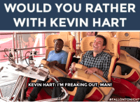 """<h2><b>Wanna play """"WOULD YOU RATHER"""" with Kevin Hart?</b></h2><h2>Kevin is ready to answer your best """"Would You Rather?"""" scenarios!</h2><h2>Send us your best/funniest/weirdest questions by replying below or by submitting to our <b><a href=""""http://fallontonight.tumblr.com/ask"""" target=""""_blank"""">Tumblr Ask Box</a></b>! </h2><h2><b>What's your best """"Would You Rather"""" question?</b></h2>: WOULD YOU RATHER  WITH KEVIN HART   KEVIN HART: l'M FREAKING OUT, MAN!  <h2><b>Wanna play """"WOULD YOU RATHER"""" with Kevin Hart?</b></h2><h2>Kevin is ready to answer your best """"Would You Rather?"""" scenarios!</h2><h2>Send us your best/funniest/weirdest questions by replying below or by submitting to our <b><a href=""""http://fallontonight.tumblr.com/ask"""" target=""""_blank"""">Tumblr Ask Box</a></b>! </h2><h2><b>What's your best """"Would You Rather"""" question?</b></h2>"""