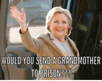 Memes, 🤖, and You: WOULD YOU SEND A GRANDMOTHER