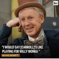 "@seahawks DE @mosesbread72 says having Pete Carroll as coach is ""like playing for Willy Wonka"" GoldenTicket: WOULDSAYICARROLLISLIKE  PLAYING FOR WILLYWONKA''  MICHAEL BENNETT  br @seahawks DE @mosesbread72 says having Pete Carroll as coach is ""like playing for Willy Wonka"" GoldenTicket"