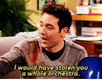Memes, Ted, and Blue: wouldthave stolen VOU  a whole orchestra Robin: You stole a blue French horn for me.   Ted: https://t.co/gvc5WyI0hP