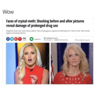"""Sad.: Wow  Faces of crystal meth: Shocking before and after pictures  reveal damage of prolonged drug use  Mugshots show how meth leaves addicts faces looking gaunt, aged and suffering from meth mouth"""" after dental  hygiene standards decline  cow MENTS BY GEMMA MULLIN  estockphotogosm Sad."""