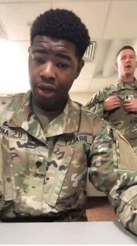 Love, Singing, and Wow: Wow!!! Show some love to this young vibrant US soldier singing 🎶 Amazing grace. #ARMYSTRONG