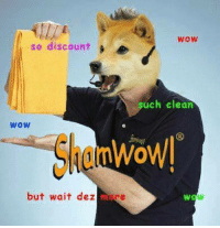Wowie: WOW  so discount  e  uch clean  WOW  WoWI  but wait dez  are  WOW
