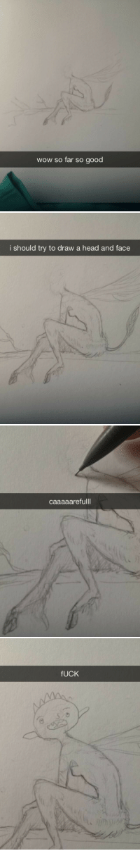 edens-blog: The struggle is real. : wow so far so good   i should try to draw a head and face   caaaaarefulll   fUCK edens-blog: The struggle is real.