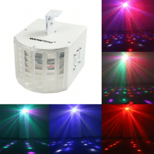 "meme-mage:  WOWTOU DMX Run in Sync 18W 6-Color 9-Pattern House Disco Party Led Stage Light with US Plug, Built-in Speed-governing and Sound-activated Black Housing Item White Housing Item Features ·         Multi-lens stage light built-in 18W red, orange, white, green, blue, purple, super bright and energy-saving·         DMX-512 connection available, allow you to link units together with DMX cable for running in sync·         Strobe lighting effect included and 7 DMX channel; Sound-activated and rotating speed adjustable at lighting·         Flame-resistant plastic housing with adjustable metal hanging bracket, easy to adjust lighting angle and mounting to wall or ceiling·         Widely used for house birthday party, disco, dj, dancing and wedding events; What you get: WOWTOU Led Stage Light, U.S AC adapter, detailed user manual, 1-year warranty and 30 days money back guarantee with timely customer service : WOWTOU"" meme-mage:  WOWTOU DMX Run in Sync 18W 6-Color 9-Pattern House Disco Party Led Stage Light with US Plug, Built-in Speed-governing and Sound-activated Black Housing Item White Housing Item Features ·         Multi-lens stage light built-in 18W red, orange, white, green, blue, purple, super bright and energy-saving·         DMX-512 connection available, allow you to link units together with DMX cable for running in sync·         Strobe lighting effect included and 7 DMX channel; Sound-activated and rotating speed adjustable at lighting·         Flame-resistant plastic housing with adjustable metal hanging bracket, easy to adjust lighting angle and mounting to wall or ceiling·         Widely used for house birthday party, disco, dj, dancing and wedding events; What you get: WOWTOU Led Stage Light, U.S AC adapter, detailed user manual, 1-year warranty and 30 days money back guarantee with timely customer service"