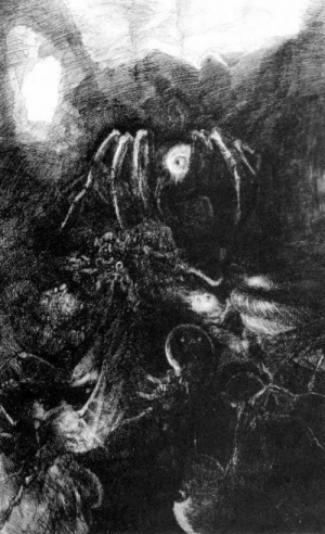Tumblr, Blog, and Http: wrath-from-the-unknown:  Hyman Bloom - On the Astral Plane: On the Dung Heap