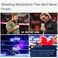 JK😂 anyways good riddance to Eva✌️. wwe wwememe wwememes danielbryan edge undertaker theundertaker kane romanreigns evamarie wrestler wrestling wrestlingmemes wrestlemania prowrestling professionalwrestling worldwrestlingentertainment wweuniverse wwenetwork wwesuperstars raw wweraw wwefunny shawnmichaels mondaynightraw smackdown smackdownlive sdlive nxt wwelive: Wrestling Retirements That We'll Never  Forget...  @HE WHO LIKES SASHA  貸  Eva Marie  @natalieevamarie  Today I'm saying a bittersweet goodbye  to @WWE. Thanks to the entire team,  and YOU, my fans, for these 4 years!  JK😂 anyways good riddance to Eva✌️. wwe wwememe wwememes danielbryan edge undertaker theundertaker kane romanreigns evamarie wrestler wrestling wrestlingmemes wrestlemania prowrestling professionalwrestling worldwrestlingentertainment wweuniverse wwenetwork wwesuperstars raw wweraw wwefunny shawnmichaels mondaynightraw smackdown smackdownlive sdlive nxt wwelive