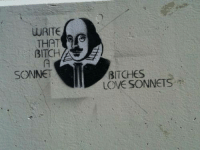 Dank, 🤖, and Sonnet: WRITE  THAT  BITCH  SONNET  BITCHES  LOVE SONNETS He knows what's up