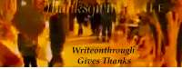 Being Alone, Community, and Crime: Writeonthrouglh  Gives Thanks writeonthrough: Happy Thanksgiving, Dear Followers! In honor of my favorite holiday, I wanted to take a moment to say thank you to all my followers, you guys constantly brighten my day. Thank you for your constant support and embracing my blog's transition to multi-fandom. While I celebrated members of the Fitzsimmons fandom back in September–There are a handful of people whohave made my first year on tumblr (yay! A little over a year now) incredibly memorable. I'm honored to call you guys friends and to be able to work with you so closely. Thank you for welcoming me in, for teaching me, supporting me, including me–For making me laugh and fangirl-ing out with me. I truly don't know where I'd be without you guys: @ughfitz - My partner in crime. I'm a better blogger and a betteractual competent giffer all because of you. Thanks for all your help and all your patience. For FSWW. For our chats and our ranting. For fangirling and comforting. My tumblr experience would be nothing without you. @superirishbreakfasttea - My mind-melding platonic soulmate. It's such a rare experience to find someone whose mind and body works so similarity to your own–a person who knows what you're going through without having to explain it. You constantly make me feel less alone. Thank you for your unwavering support and encouragement. We'll always have Disneyland. @cardb0rdeaux - One of my bandmates and my creative collaborators. It's a huge honor to share the fandom's beloved FS Indie Band with you. Thank you for sharing. Everything we work on together has a special place in my heart. @fitzsimmouns - My @aosficnet co-mod. I love our network and our writing community so much. Thank you for being a great partner and a great friend. @reymanova - Our third bandmate and my singer and creative collaborator. You completed our band and made my summer.Thank you for reaching out to me and offering to sing the first song I ever wrote. It