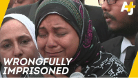 Memes, Parents, and Free: WRONOFULLY  IMPRISONED A Pakistani woman was wrongfully imprisoned for 20 years for the murder of her parents. Now she's finally free.